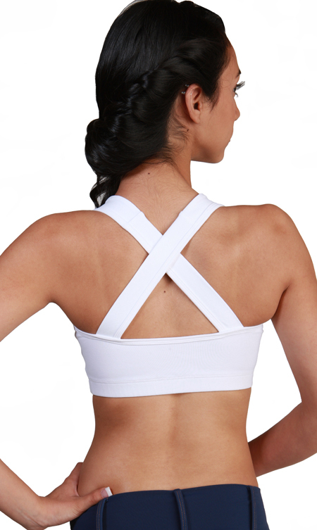 Body Angel Activewear Tied Bow Short Top