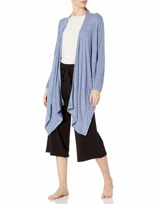 Karen Neuburger Women's Long Sleeve Convertible Sweater Jacket Wrap