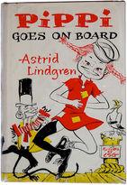 One Kings Lane Vintage Pippi Goes on Board, 1962