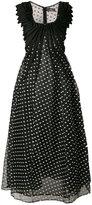 Capucci polka dot organza dress
