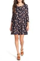 Lush Women's 'Leah' Shift Dress