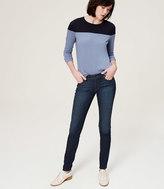 LOFT Modern Super Skinny Jeans in Vintage Mid Indigo Wash