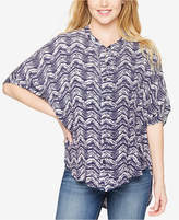 Splendid Maternity Printed Short-Sleeve Top