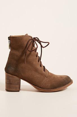 beek Meadowlark Lace-Up Boots By in Beige Size 7