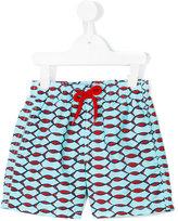 Vilebrequin Kids fish print swim shorts