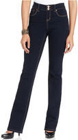 Style&Co. Jeans, Curvy-Fit Bootcut, Rinse Wash