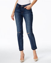 Jag Rochelle Slim-Fit Dark Wash Ankle Jeans