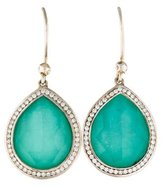 Ippolita Turquoise & Diamond Teardrop Earrings