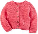 Carter's Baby Girls' Textured Cardigan