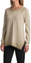 525 America Spray-Dyed Sweatshirt - Handkerchief Hem (For Women)