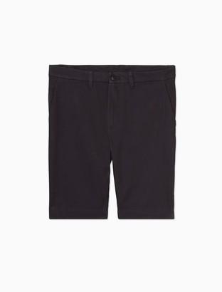 "Calvin Klein Peached Cotton Twill 4-Pocket 9"" Shorts"