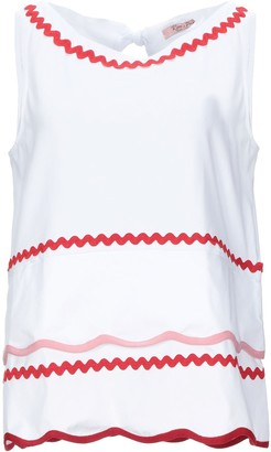 Rose' A Pois Tank tops