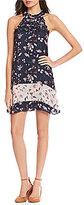 Gianni Bini Chloe Mixed Print Dress