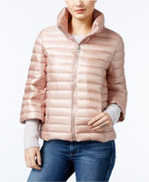GUESS Catee Three-Quarter-Sleeve Puffer Coat