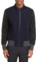 Lanvin Men's Colorblock Moto Jacket