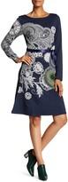 Desigual Tropicial Floral And Kaleidoscope Design Midi Dress