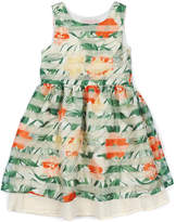 Appaman Girls' Flora Tropical Hibiscus Dress
