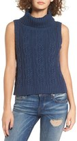Somedays Lovin Logic Cable Knit Turtleneck Tank