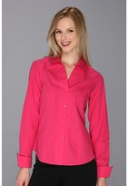 Jones New York L/S Button Up Shirt 10458341 (Magenta) - Apparel