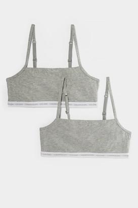 Calvin Klein 2-Pack Unlined Bralette