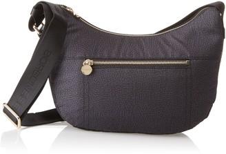 Borbonese Luna Con Tasca Womens Cross-Body Bag