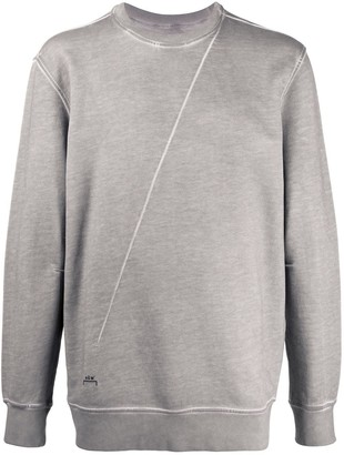 Diesel Red Tag x A-COLD-WALL* stitch detail sweatshirt