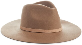 LACK OF COLOR The Grove Wool & Leather Fedora