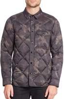 Rag & Bone Men's Diamond-Quilted Shirt Jacket
