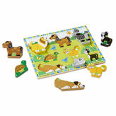 Melissa & Doug Chunky Wooden Pets Puzzle