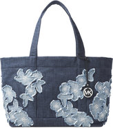 MICHAEL Michael Kors Denim Item Extra Large Tote