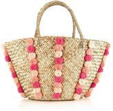 Seafolly Carried Away Pom Pom Beach Basket Bag