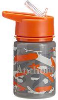 Pottery Barn Kids Mackenzie Water Bottle Orange Skateboard Camo