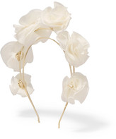 Rosantica Silk-georgette Headband - White
