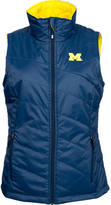 Columbia Women's Michigan Wolverines College Powder Puff Vest