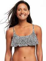 Old Navy Ruffle-Trim Bandeau Bikini Top for Women