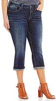 Silver Jeans Co. Plus Perfectly Curvy Suki Capri