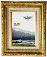 Imperial Frames 614812 8 by 12-Inch/12 by 8-Inch Picture/Photo Frame, Dark with Floral Design and A Canvas Liner
