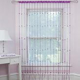 Bed Bath & Beyond Heartbeat Jewelry Rod Pocket Window Curtain Panel in Pink