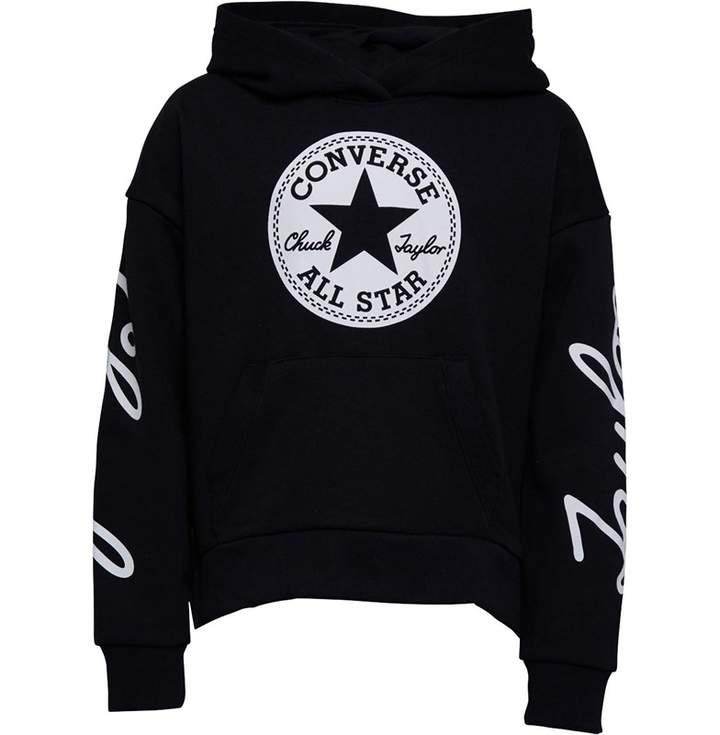 9466160eb Girls Converse Hoody - ShopStyle UK