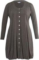 House of Fraser Chesca Studded melange jersey cardigan/dress