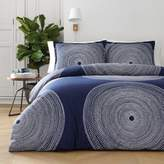 Marimekko Fokus Full/Queen Duvet Cover Set in Navy