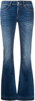 Dondup low rise flared jeans