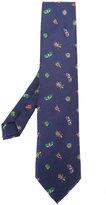Etro bug pattern tie - men - Silk - One Size