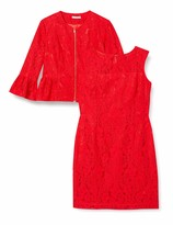 Thumbnail for your product : Gina Bacconi Women's Mariana Lace Dress and Jacket Cocktail
