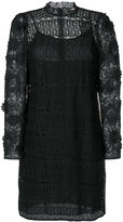Michael Kors floral mesh lace dress