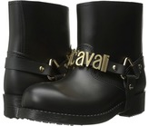 Just Cavalli Rubber Rain Boot w/ Sliding Logo