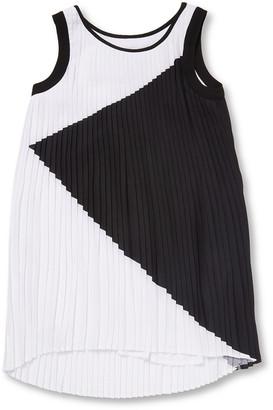 Karl Lagerfeld Paris Pleated Shift Dress