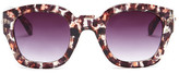 MinkPink Women&s Pour It Up Polycarbonate Frame Sunglasses