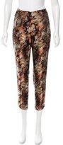 Porter Grey Floral Skinny Pants