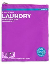 Flight 001 'Go Clean' Nylon Laundry Travel Pouch - Purple